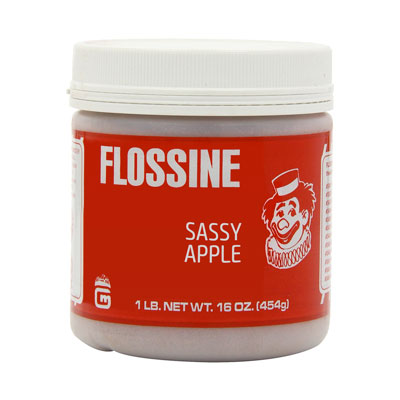 Flossine Sassy Apple 1lb Jar