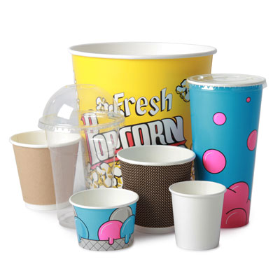 Disposable Cups and Tubs