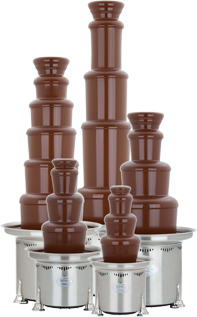 Commercial Chocolate Fondue Fountains