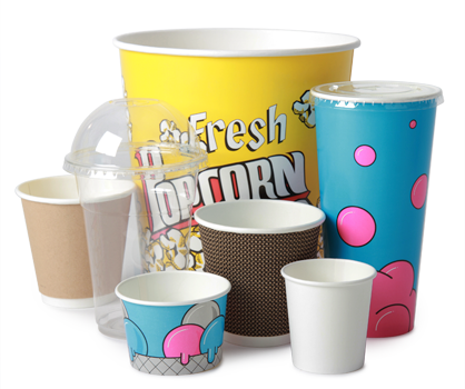 Disposable Packaging, Cups, Tubs, Sleeves & Lids